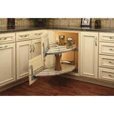 blind corner kitchen cabinet inserts curve 2 tier right handed blind corner cabinet organizer