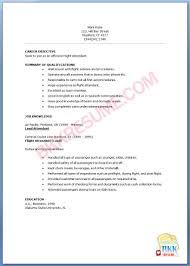 Objective For Flight Attendant Resume 5 Flight Attendant Resume Templates Free Word Pdf Sample Resume