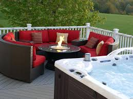 Gas Fire Pit Table Sets - outdoor dining table with propane fire pit grand colonial dining