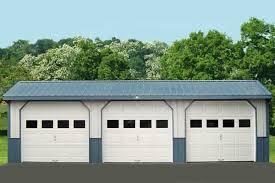 3 door garage sharty 2 car garage width