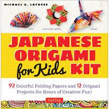 japanese origami kit for kids tuttle publishing