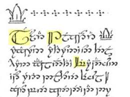 dafont lord of the rings tolkien language discussion may 2013