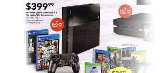 black friday walmart target best buy ps4 games top 5 best ps4 black friday deals