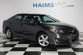 used toyota 2014 2014 used toyota camry 2014 5 4dr sedan i4 automatic se at haims