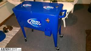 bud light for sale armslist for sale bud light deck or patio cooler with wheels