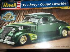 revell 1939 chevy coupe street rod lowrider 1 24 model car