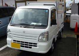suzuki box truck file suzuki carry freezer da16t front jpg wikimedia commons
