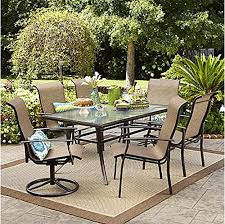 Small Patio Dining Sets 7 Piece Dining Set Perfect For Any Outdoor Dining Set Needs This