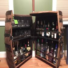liquor cabinet with lock and key liquor barrel cabinets cooperage cabinets