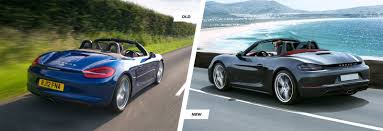old porsche 918 porsche 718 boxster old vs new comparison carwow