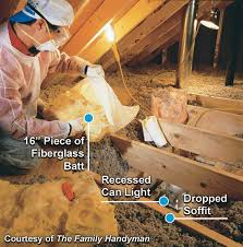 Insulation Around Recessed Lighting Attic Air Sealing Project Energy Star
