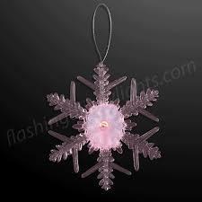 led ornaments led snowflake decoration from flashingblinkylights