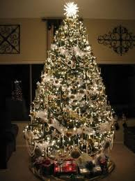 sumptuous pre lit tree in spaces traditional with beaded