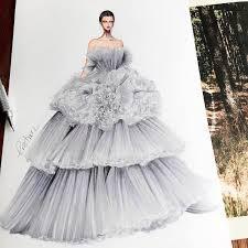 fashion designer gown designs by eris showcase fashion illustrators skill