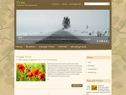 theme tree free wordpress theme