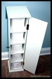 Toilet Paper Storage Cabinet Wooden Toilet Paper Storage Cabinet Wicker Holder In Bathroom