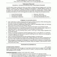 House Manager Resume Sample by Operations Manager Resume 14 Useful Materials For Branch