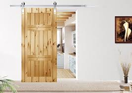 Metal Sliding Barn Doors Diyhd Country Style Stainless Steel Sliding Barn Wood Door