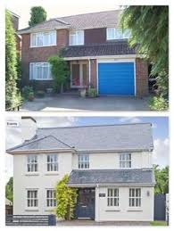 exterior makeover of this 1980 u0027s house in farnham surrey the