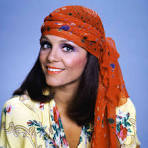 Actress Valerie Harper, when
