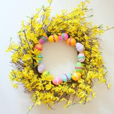 easter decorations on sale last minute easter wreath design improvised