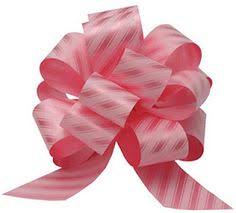 big present bow diy how to make an easy pom pom ribbon bow christmas