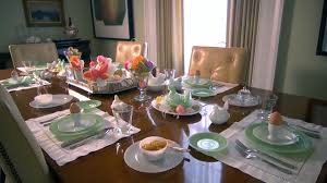 easter table setting at home with p allen smith youtube