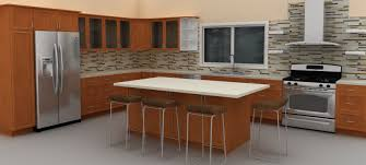Kitchen With An Island Adding An Ikea Kitchen Island For More Functionality