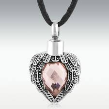 cremation jewlery alexandrite near heart stainless steel cremation jewelry