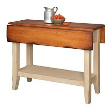 Drop Side Table Primitive Kitchen Island Table Small Drop Side Farmhouse Country