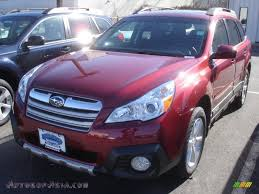 red subaru outback 2013 subaru outback 2 5i limited in venetian red pearl 283669