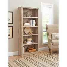antique oak bookcase with glass doors better homes and gardens crossmill 5 shelf bookcase multiple