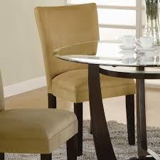 modern yellow parson chair dining chairs