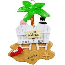 ornaments tropical personalized