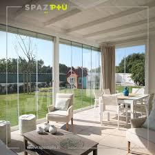 vetrate verande vetrate scorrevoli per la chiusura di verande portici terrazze