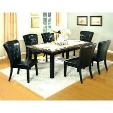 black granite top dining table set black granite kitchen table granite dining table with high marble