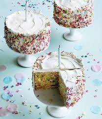confetti birthday cakes recipe gourmet traveller cakes