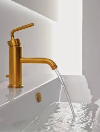 Bathroom Elegant Bronze Kohler Purist With Lenova Sink For Modern - Kohler bathroom design