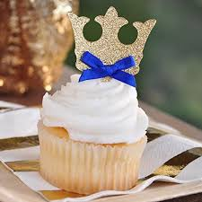 Royal Blue Baby Shower Decorations - royal blue and gold baby shower amazon com