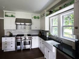Small Kitchen Paint Color Ideas Small Kitchen With White Cabinets Everdayentropy Com