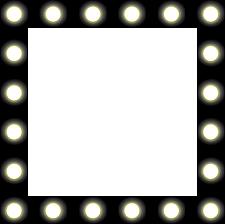 clipart showbiz make up mirror style frame