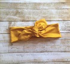thanksgiving infant headbands mustard headwrap mustard headband knot bow headwrap baby turban