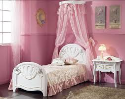 bedroom gratifying transparent white curtain girls canopy bed
