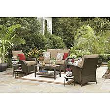 Outdoor Patio Furniture Wicker Patio Conversation Sets Outdoor Seating Sets Sears