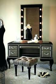 vanity dresser with lighted mirror amazing makeup dresser with lights and best make up station images