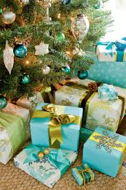 Pretty Christmas Trees Decorated With Presents Stylish Gift Wrapping Ideas Southern Living