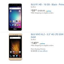 tracfone black friday amazon blu devices now back on amazon u0027s website wirefly
