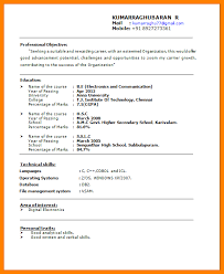 a simple resume format for freshers best resume formats 40 free