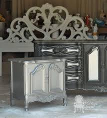 Pewter Bedroom Furniture Foter - Painted bedroom furniture