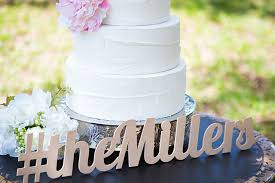 wedding cake hashtags creative ways to incorporate your wedding hashtag into your décor